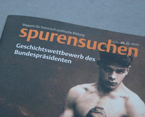 Spurensuchen Magazin