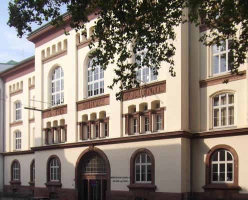 Ehemaliges Schulgebäude am Holzdamm