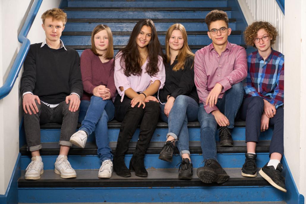 Foto Klosterschule Schulsprecher-Team